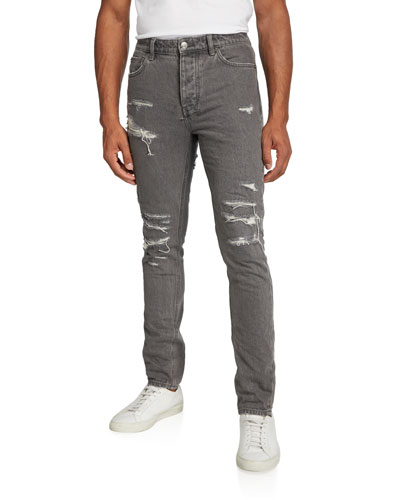 Men's Chitch Fire Starter Distressed Jeans