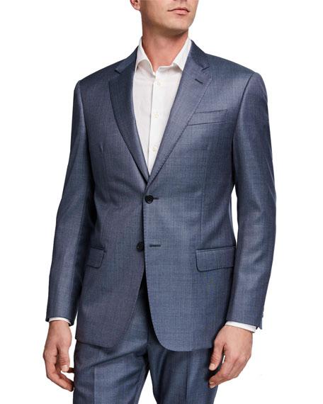 Emporio Armani Men's G Line Super 130s Virgin Wool Suit