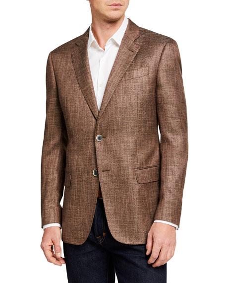 Emporio Armani Men's G Line Textured Two-Button Jacket