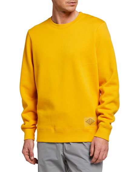 Ovadia Men's Dune Combination Crewneck Sweatshirt