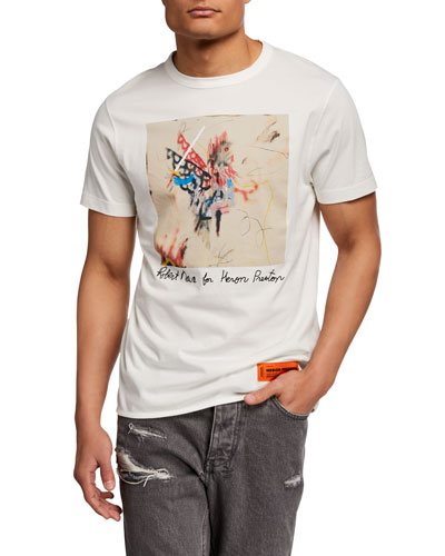 Men's Graffiti Sketch Graphic T-Shirt