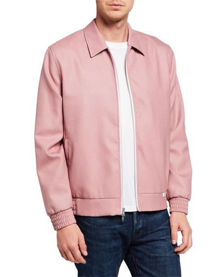 Ovadia Men's McGregor Wool Zip-Front Jacket