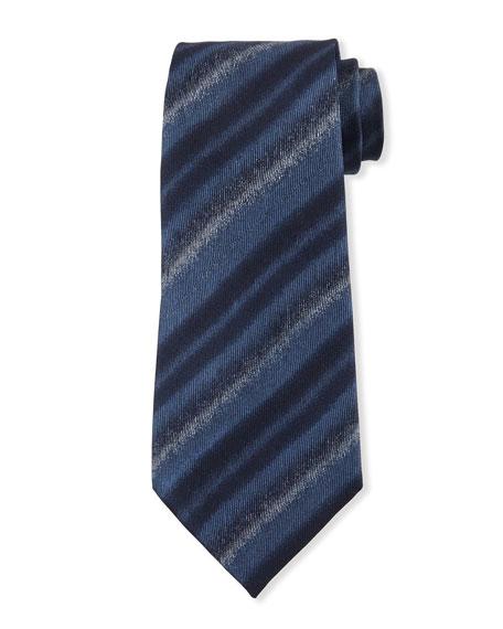 Emporio Armani Faded Striped Tie