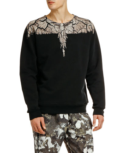 Men's Earth Wings Crewneck Sweatshirt