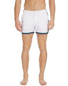 Orlebar Brown Men's Setter Binding Side-Stripe Swim Shorts