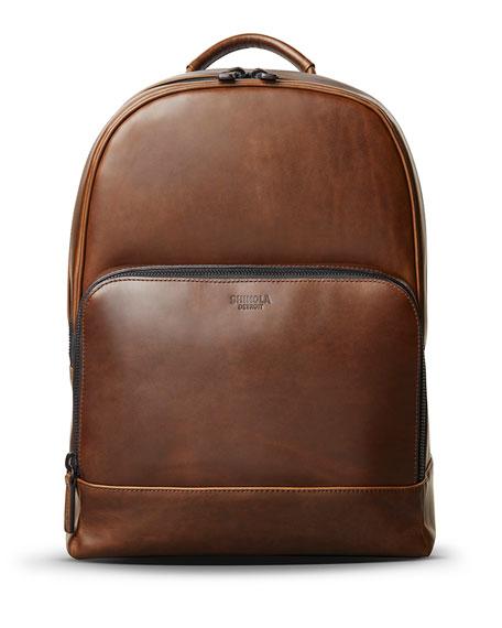 Shinola Men's Fulton Navigator Leather Backpack