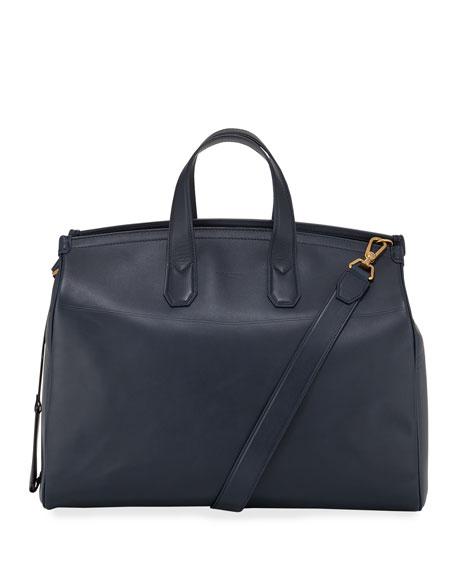 dunhill Men's Duke Leather Weekender Bag