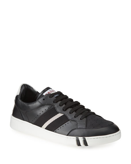 Bally Men's Wissal Trainspotting Leather Sneakers