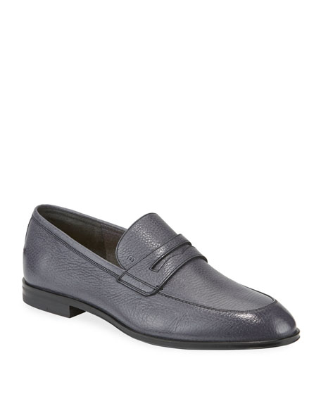 Bally Men's Webb Deer Leather Penny Loafers