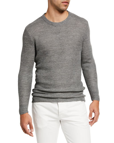 Ribbed Wool Knit Sweater | Neiman Marcus