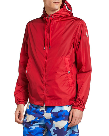 Moncler Men's Grimpeurs Lightweight Wind-Resistant Jacket