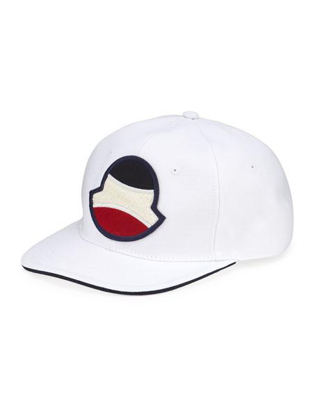 Moncler Men's Logo Applique Baseball Cap