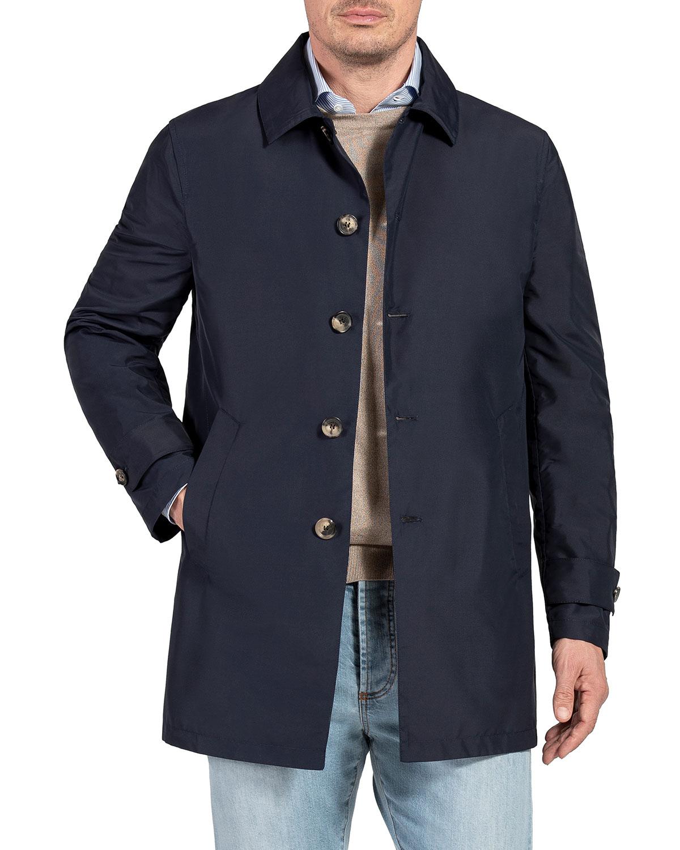 Men's Techno-Silk Raincoat