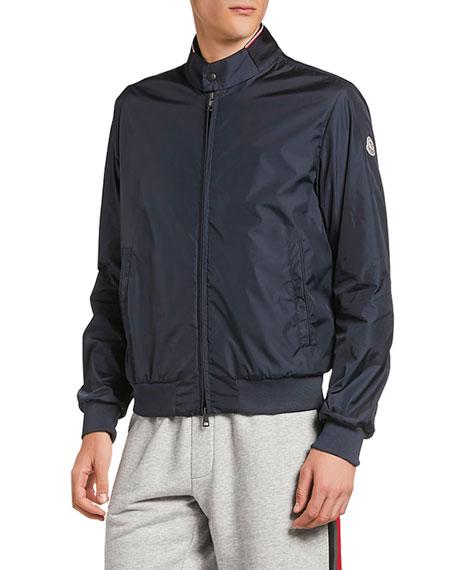 Moncler Men's Reppe Zip-Front Jacket