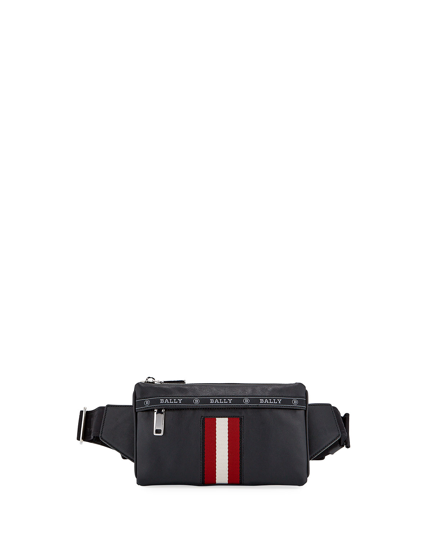 Men's Trainspotting Leather Crossbody/Belt Bag