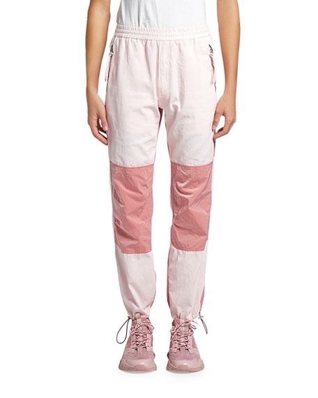 Moncler Genius Men's 1952 Pieced Nylon Jogger Pants
