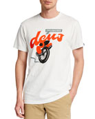 Deus Ex Machina Men's Ray-Gun Logo T-Shirt