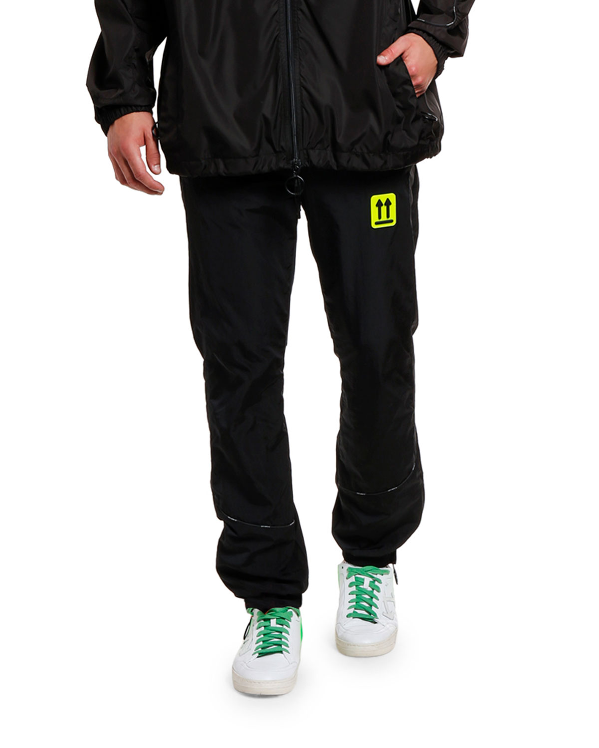 Off-White Loungewears MEN'S RIVER TRAIL TRACK PANTS