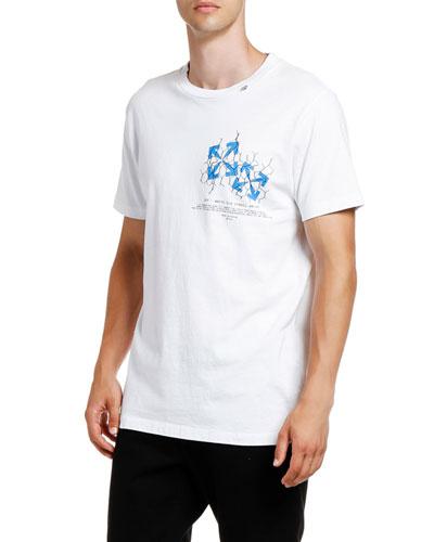 Men's Fence Arrow Slim T-Shirt
