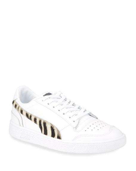 Puma Men's Ralph Sampson Faux-Zebra Sneakers