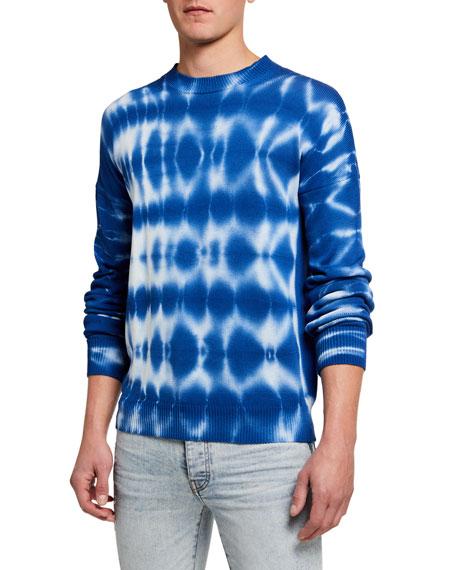 Marcelo Burlon Men's Tie-Dye Crewneck Sweater