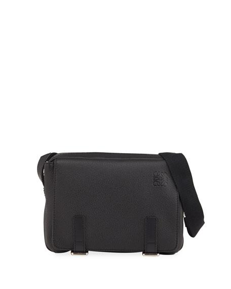 Loewe Men's XS Leather Military Messenger Bag