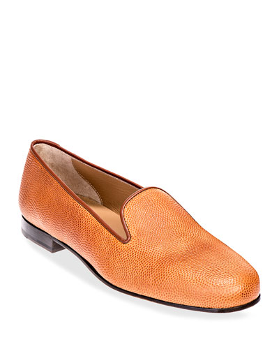 Men's Football Leather Venetian Loafers