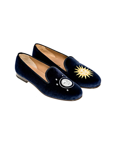 Men's Nite N Day Velvet Slippers