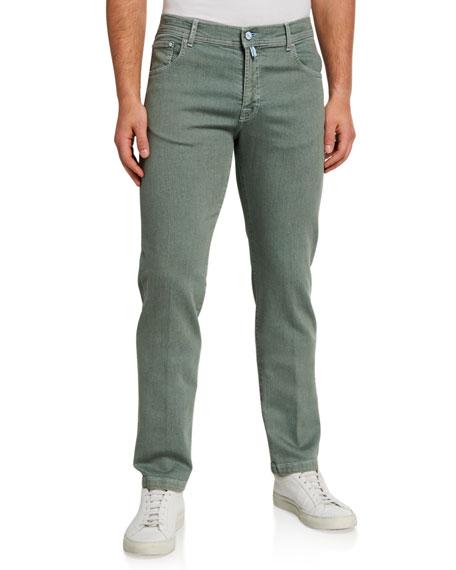 Kiton Men's 5-Pocket Overdyed Jeans