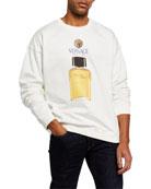 Versace Men's Cologne Bottle Sweatshirt