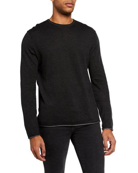 Rag & Bone Men's Trent Solid Crewneck Sweater