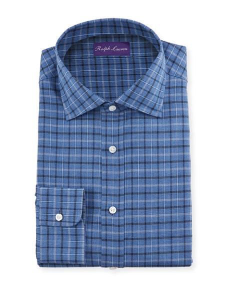 Ralph Lauren Purple Label Men's Tattersall Dress Shirt