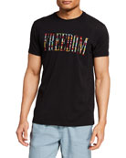 John Varvatos Star USA Men's Freedom Embroidered Graphic