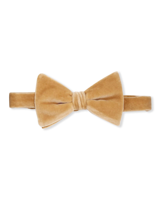 Ralph Lauren Tie MEN'S VELVET BOW TIE