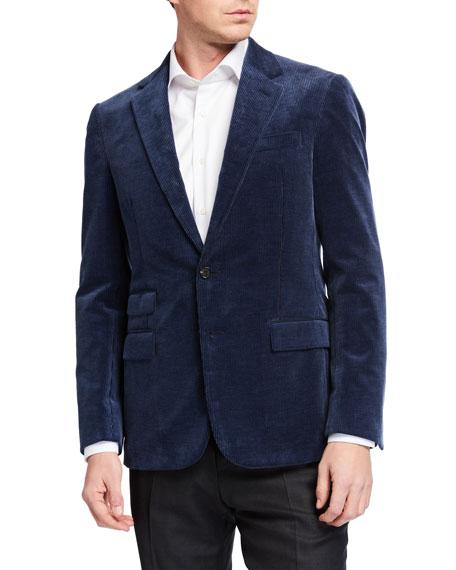Ralph Lauren Purple Label Men's Corduroy Two-Button Jacket