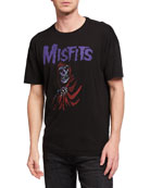 John Varvatos Star USA Men's Misfits Ghoul Graphic