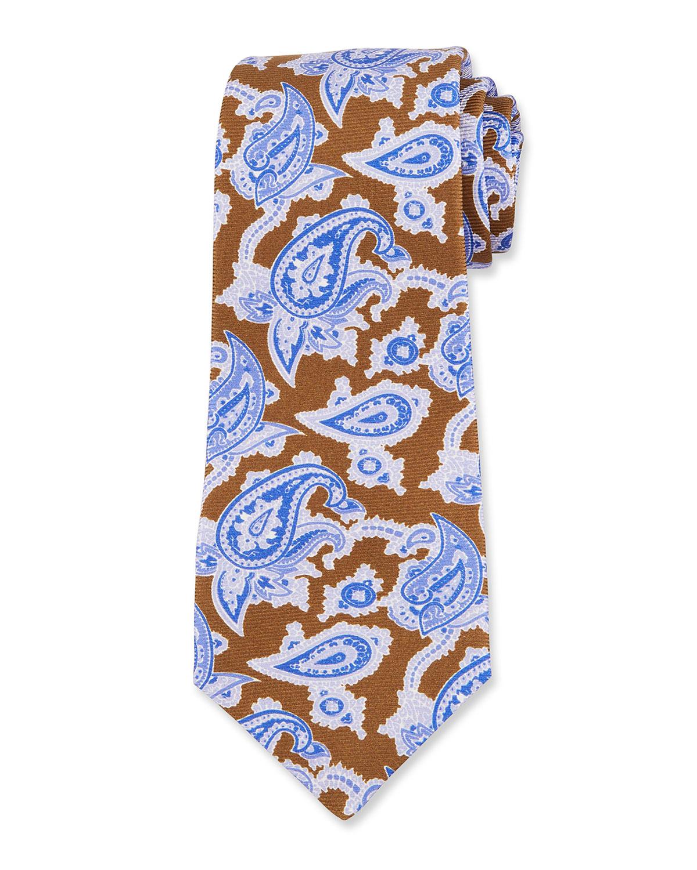Men's Paisley Silk Tie