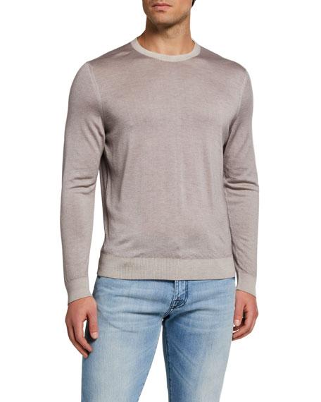 Kiton Men's Crewneck Cashmere Sweater