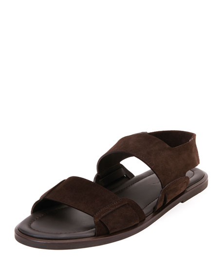 Giorgio Armani Men's Suede Sandals