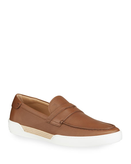 Tod's Men's Mocassino Leather Slip-Ons