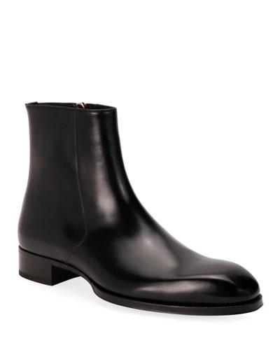zip dress boots
