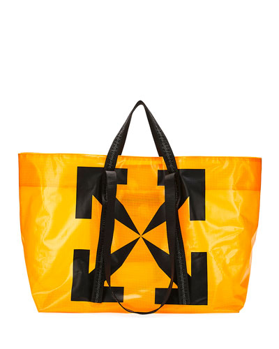 Men's Arrow PVC Tote Bag