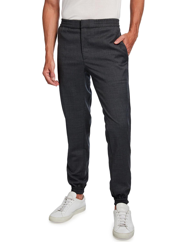 Men's Wool Jogger Trousers