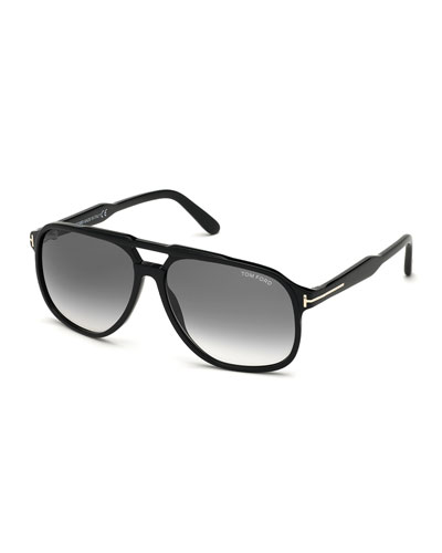Men's Raoul Gradient Aviator Sunglasses