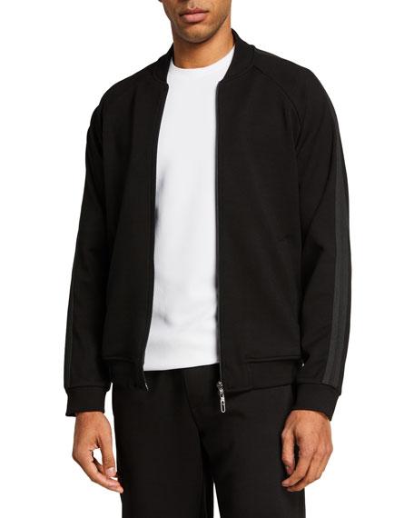Emporio Armani Men's Hookup Jersey Zip-Front Jacket