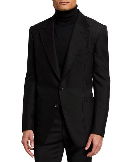 TOM FORD Men's Shelton Hopsack Sport Jacket