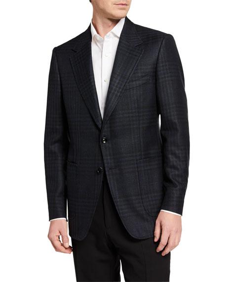 TOM FORD Men's Shelton Grand Check Sport Jacket