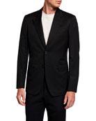 Brioni Men's Solid Classic-Fit Two-Piece Suit