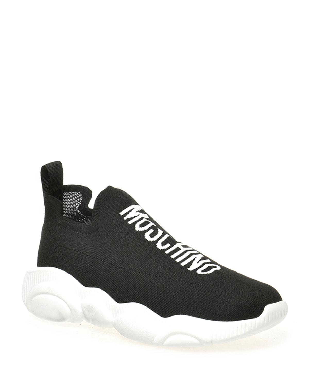 Men's Chunky Logo Sock Sneakers