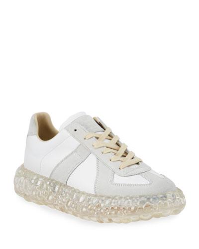 Men's Replica Caviar Heel Sneakers